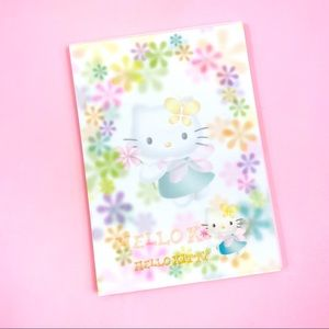 Vintage Sanrio Hello Kitty Fairy Memopad Kawaii